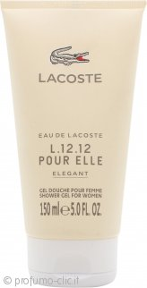 Lacoste L.12.12 Pour Elle Elegant Gel Doccia 150ml