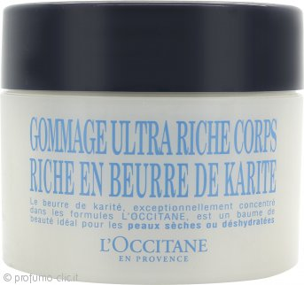L'Occitane Shea Butter Ultra Rich Scrub Corpo 200ml