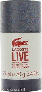 Lacoste Live Deodorante Stick 75ml