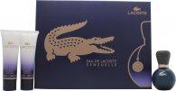 Lacoste Eau De Lacoste Sensuelle Confezione Regalo 30ml EDP + 2 x 50ml Gel Doccia