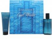 Davidoff Cool Water Confezione Regalo 75ml Dopobarba Spray + 75ml Gel Doccia