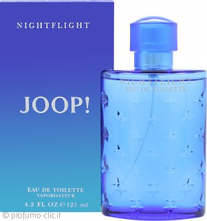 Joop! Nightflight Eau de Toilette 125ml Spray