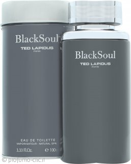 Ted Lapidus Black Soul Eau de Toilette 100ml Spray