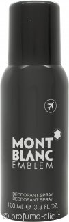 Mont Blanc Emblem Deodorante Spray 100ml