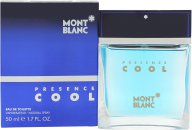 Mont Blanc Presence Cool Eau de Toilette 50ml Spray