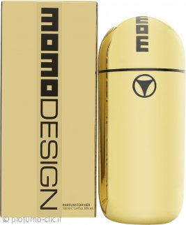 Momo Design Gold Eau de Parfum 100ml Spray