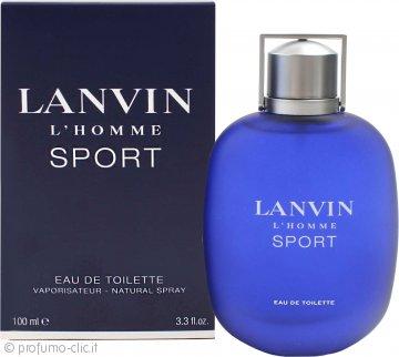 Lanvin L'Homme Sport Eau de Toilette 100ml Spray