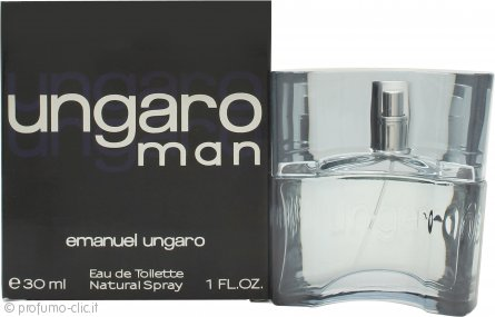 Ungaro Man Eau de Toilette 30ml Spray