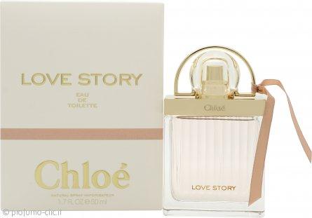 Chloe Love Story Eau de Toilette 50ml Spray