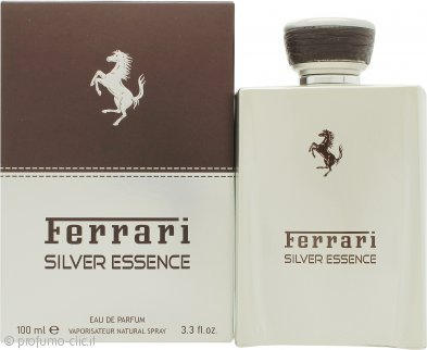 Ferrari Silver Essence Eau de Toilette 100ml Spray