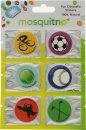 MosquitNo Spotzzz Citronella Stickers Foglio Singolo con Disegni Misti