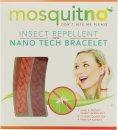 MosquitNo Nano Braccialetti Repellenti per Insetti Rosso & Arancione