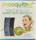 MosquitNo Nano Braccialetti Repellenti per Insetti Blu & Blu Scuro