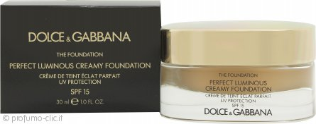 Dolce & Gabbana Perfect Finish Creamy Fondotinta 30ml - 110 Caramel SPF15