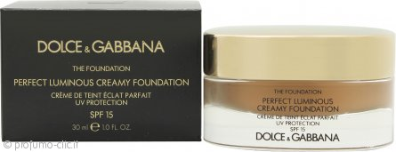 Dolce & Gabbana Perfect Finish Creamy Fondotinta 30ml - 148 Amber SPF15