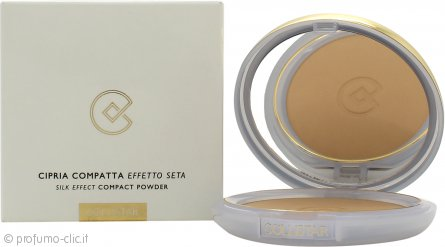 Collistar Silk-Effect Cipria Compatta 7g- 002 Honey
