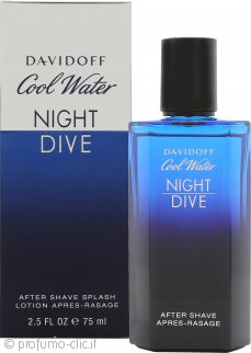 Davidoff Cool Water Night Dive Dopobarba 75ml Splash