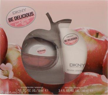 DKNY Be Delicious Fresh Blossom Confezione Regalo 50ml EDP + 100ml Lozione Corpo