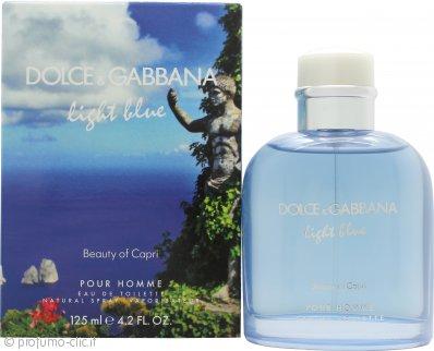 Dolce & Gabbana Light Blue Pour Homme Beauty of Capri Eau de Toilette 125ml Spray