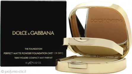 Dolce & Gabbana Perfect Matte Fondotinta in Polvere 15g - 140 Tan