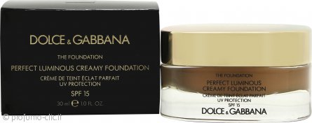 Dolce & Gabbana Perfect Finish Creamy Fondotinta 30ml - 150 Almond SPF15