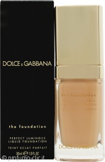 Dolce & Gabbana Perfect Luminous Liquid Fondotinta 30ml - 130 Warm Rose
