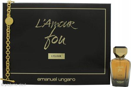 Emanuel Ungaro L'amour Fou L'Elixir Confezione Regalo 50ml EDP + Braccialetto