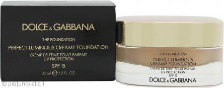 Dolce & Gabbana Perfect Finish Creamy Fondotinta 30ml - 80 Creamy SPF15