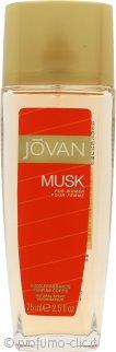 Jovan Musk for Woman Body Spray 75ml