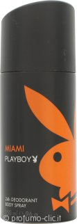 Playboy Miami Playboy Deodorante Spray 150ml