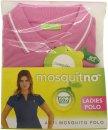 MosquitNo Anti Mosquito Ladies Polo Taglia L - Colori Assortiti
