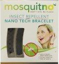 MosquitNo Nano Braccialetti Repellenti per Insetti Nero & Marrone