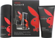 Playboy Vegas Playboy Confezione Regalo 150ml Gel Doccia + 150ml Deodorante Spray