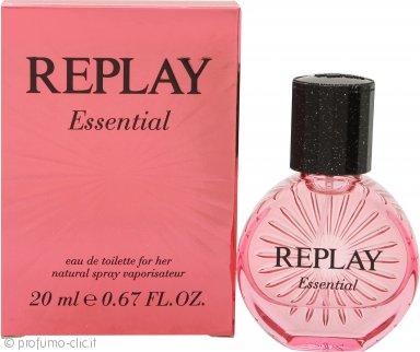 Replay Essential for Her Eau de Toilette 20ml Spray