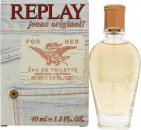 Replay Jeans Original for Her Eau de Toilette 40ml Spray