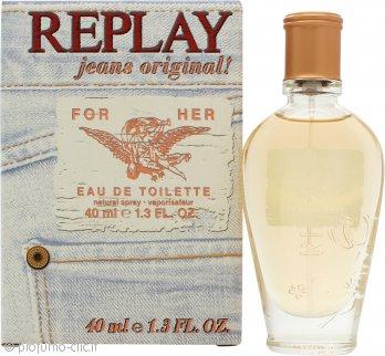 Replay Jeans Original for Her Eau de Toilette 40ml Spray