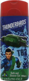 Thunderbirds Bagnoschiuma e Gel Doccia 400ml