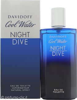 Davidoff Cool Water Night Dive Eau de Toilette 125ml Spray