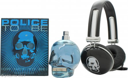 Police To Be Confezione Regalo 125ml EDT + Cuffie