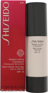 Shiseido Radiant Lifting Fondotinta 30ml SPF15 - B20 Natural Light Beige