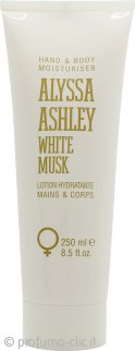 Alyssa Ashley White Musk Idratante Mani & Corpo 250ml