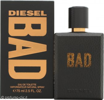 Diesel Bad Eau de Toilette 75ml Spray