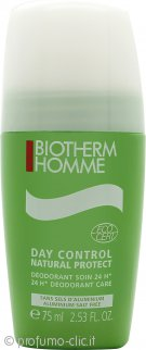 Biotherm Homme Organic 24hrs Deodorante Roll On 75ml