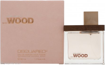 DSquared2 She Wood Eau de Parfum 50ml Spray