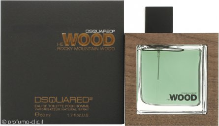 DSquared2 Rocky Mountain Wood Eau de Toilette 50ml Spray
