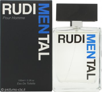 RudiMENtal Blue Eau de Toilette 100ml Spray