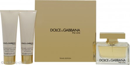 Dolce & Gabbana The One Confezione Regalo 75ml EDP + 50ml Lozione Corpo + 50ml Gel Doccia