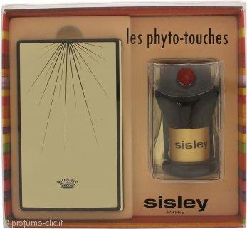Sisley Phyto-Touches Sun Glow Cipria Compatta con Pennello Peach-Gold 7g/3g