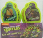 Teenage Mutant Ninja Turtles 4 Day Confezione Regalo 4 x 50ml Bagnoschiuma & Gel Doccia