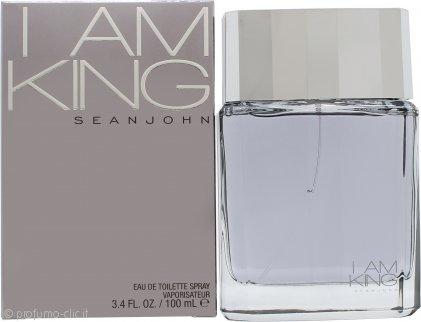Sean John I Am King Eau de Toilette 100ml Spray
